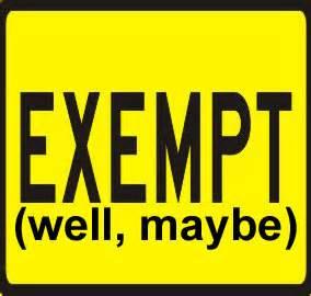 Exempt
