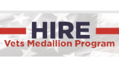 New HIRE Vets Medallion Award program announced