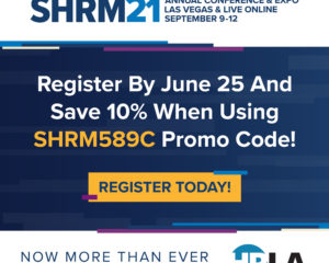 Exclusive Offer for SHRM21